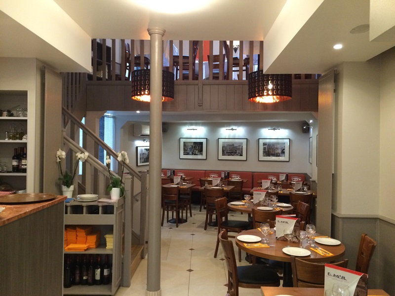 Restaurant el mir libanais à paris