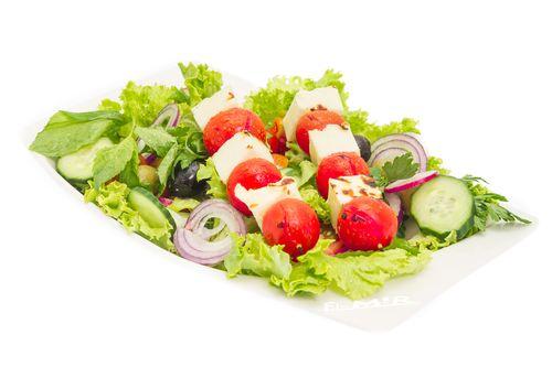 Salade halloum